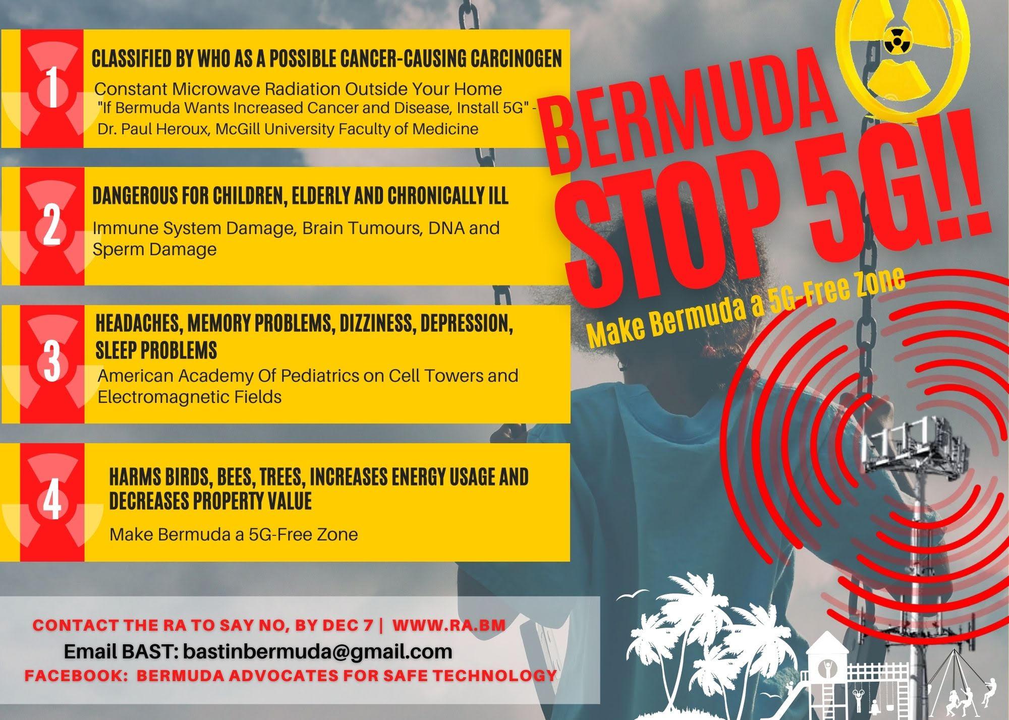 Bermuda STOP 5G!!